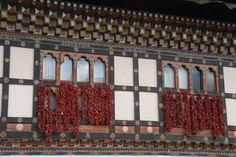 Paro (2300 m) - Bhoutan : piments