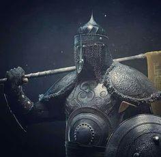 Ottoman Warrior 'He looks like a real badass! Dnd Cleric, Types Of Armor, Medieval Armor, Fantasy Armor, Orient, Islamic Art, Arm Armor, High Fantasy, Arabian Nights