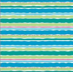 David Textiles turquoise sky blue lime green by BlueCraneQuiltShop