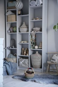 Emsloo kids bedroom shelf