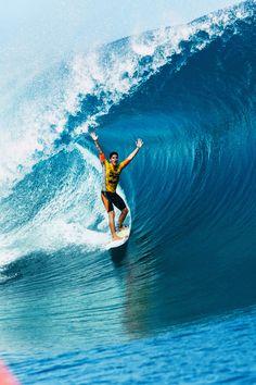 Congrats... Gabriel Medina Wins 2014 Billabong Pro Tahiti...