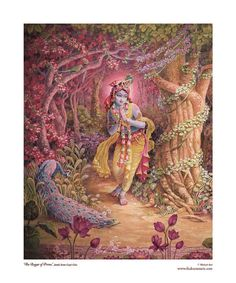 Krsna 8x10 matted fine art print fits 11x14 frame by ThakuraniArts, $28.00