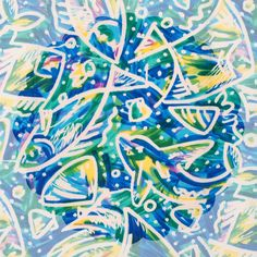yukikohanaiさんはInstagramを利用しています:「fabric トロピカル フィッシュ #yukikohanai #ユキコハナイ #花井幸子 #fashion #hanaifabric #たおやかに美しく #instagood #summer #resort #sea #fish #shell #南国 #海 #魚 #🐟 #貝…」