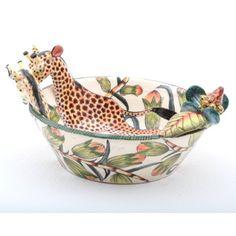 Giraffe Bowl #ardmoreceramics #ardmore