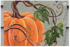 Pumpkin Painting On Canvas . Awesome Pumpkin Painting On Canvas . Pumpkin Painting Demo for Halloween Oil Painting Autumn Painting, Autumn Art, Tole Painting, Painting & Drawing, Pumpkin Painting, Fall Paintings, Acrylic Paintings, Pumpkin Drawing, Pumpkin Art