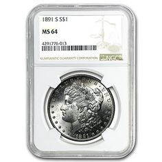 1891 Morgan Dollar MS-64 NGC $1 MS-64 NGC *** Be sure to check out this awesome product.
