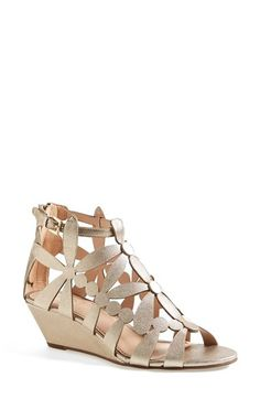 Tory Burch 'Emerson' Cage Wedge Sandal (Women) available at #Nordstrom