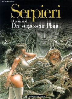 Comics Story, Bd Comics, Comics Girls, Arte Horror, Horror Art, Fantasy Comics, Fantasy Art, Comics In English, Serpieri