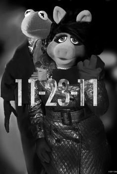 Kermit the Frog and Miss Piggy in The Muppets Kermit And Miss Piggy, Kermit The Frog, Jim Henson, Dragon Tattoo Poster, The Muppets 2011, Sesame Street Muppets, The Woman In Black, Muppet Babies, Fraggle Rock