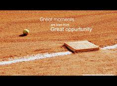 fastpitch softball inspirational quotes | softball quotes sport quotes sportquotes softball is life motivation ...
