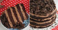 Jemná čokoládová torta s krémom a čokoládovými hoblinami | Chillin.sk