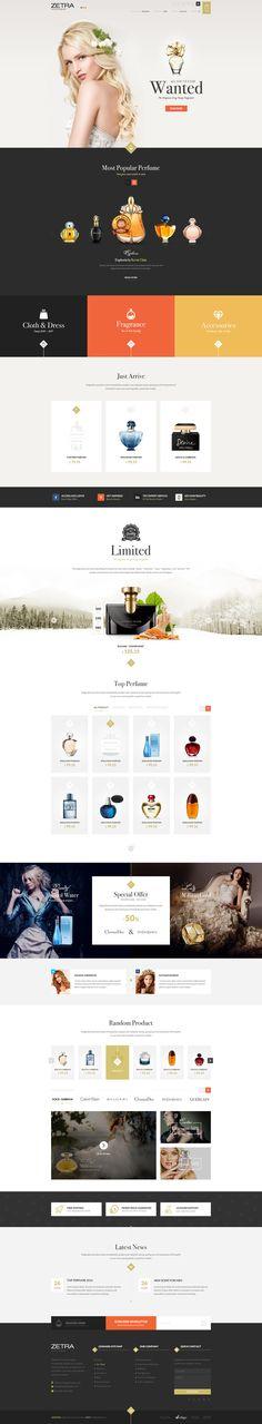 14 web designs modernes à télécharger gratuitement en PSD pour 2016