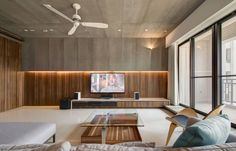 View in gallery modern design apartment modern apartment designs by design studio Modern Apartment Design, Contemporary Apartment, Modern Interior Design, Flat Interior, Living Room Sets, Living Room Designs, Living Room Decor, Loft Industrial, Apartment Color Schemes