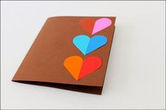 simple crafts making: Making a love Pop-up Card