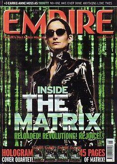 EMPIRE Magazine(UK)- June 2003 - The Matrix cover