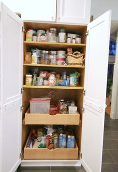The Pantry Before