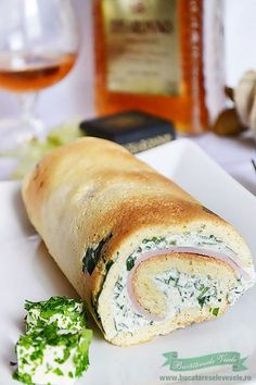 You searched for rulada - Bucataresele Vesele Savoury Baking, Romanian Food, Fresh Rolls, Soul Food, Hot Dog Buns, Bagel, Finger Foods, Delicious Desserts, Food To Make