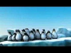 Funny animation about intelligent penguins - YouTube