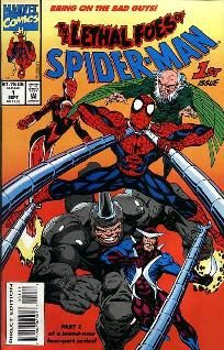 Lethal Foes of Spider-Man 1 2 3 4 complete set ---> shipping is $0.01!!!
