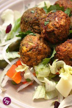 receta falafel habas