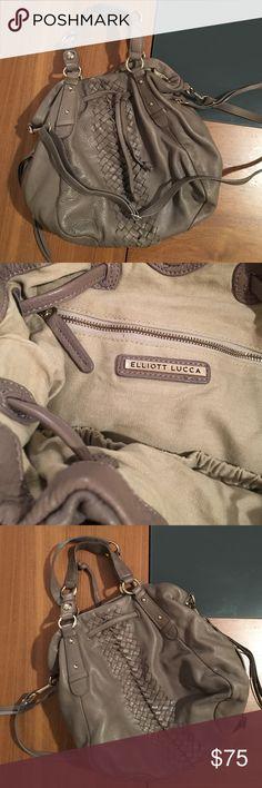 Elliot Lucca Leather Handbag Elliot Lucca Leather Handbag - perfect condition Elliott Lucca Bags Hobos
