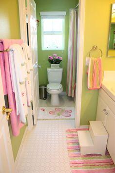 Roze En Witte Badkamer Inplaats Van Zou Ik Blauw Doen