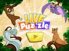 is a new kind of puzzle for kids. Forget the static jigsaw puzzles, here children are amazed by cartoon animations never stopping: the scene keeps moving while kids drag and drop the puzzle pieces. Think Education, Curious Kids, Puzzles For Kids, Educational Games, Pet Names, Forest Animals, Puzzle Pieces, Jigsaw Puzzles, Animation