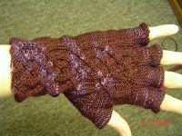 Knitting Scientist: Celtic Cable Fingerless Gloves  Hopefully someday I will figure out how to make the right glove