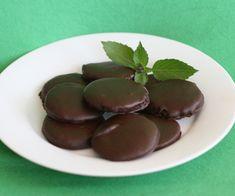 Homemade Thin Mint Cookies