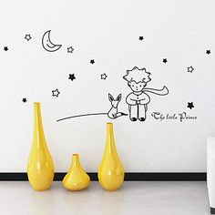 Cartoon pequeño príncipe pegatinas de pared - EUR € 24.74