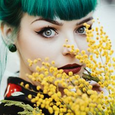 Green eyes by thefirebomb.deviantart.com on @DeviantArt