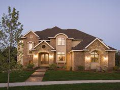 Spectacular Luxury Home - plan #013S-0009   houseplansandmore.com