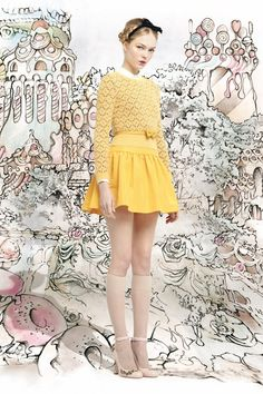RED VALENTINO AUTUMN/WINTER 13 #FW13 #Collection #Fashion  Via: http://fashioncherry.co/red-valentino-autumnwinter-13/