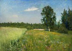 Isaac Levitan - A day in June - c.1895