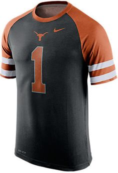 NIKE TEAM Men's Nike Texas Longhorns College Dri-FIT New Day Name and Number…