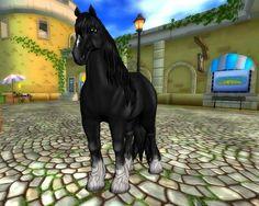 Mooie nieuwe Shire paarden zijn verhuisd naar Jorvik!