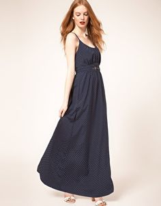 Enlarge Whistles Stevie Triangle Spot Maxi Dress