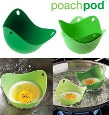 Poach Pod makes poaching eggs really easy.