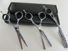 "5.5""Professional Hair Cutting & Thinning Scissors Barber Shears Hairdressing Set #ScissorsPlus"