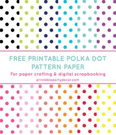 Download and print this free printable digital paper! Digital paper is perfect to use for scrapbooking and paper crafting.