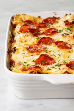 When Pizza Meets Lasagna, the Whole World Changes Homemade Lasagna Recipes, Easy Lasagna Recipe, Baked Pasta Recipes, Beef Recipes, Cooking Recipes, Pizza Recipes, Yummy Recipes, Recipies, Beef Meals