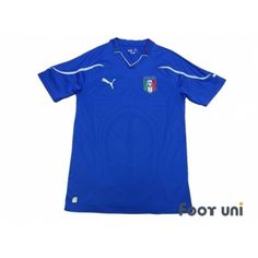 Photo1: Italy 2010 Home Shirt - Football Shirts,Soccer Jerseys,Vintage Classic Retro - Online Store From Footuni Japan