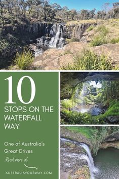 10 Must-See Stops on the Waterfall Way NSW
