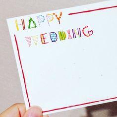 今密かに話題の「紙刺繍」って知ってますか?紙刺繍をするだけで今までのカードやノート、部屋中のあらゆるものがお洒落になってしまうとってもかわいい「紙刺繍」。わかりやすいやり方、縫い方や作品、刺繍にオススメのアイテムをご紹介します☆ Paper Embroidery, Handicraft, Diy And Crafts, Greeting Cards, Scrapbooking, Bullet Journal, Lettering, Weddings, Stitch