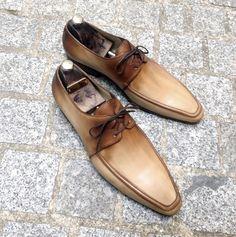 Caulaincourt shoes - Norton - sand brown