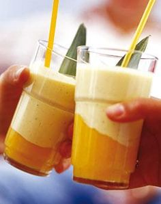 Rezept: Vanillejogurt mit Mango