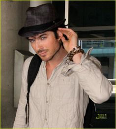 Ian Somerhalder, soooooo hot!! He should play Christian Grey for sure!!!