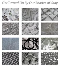 Great Shades of Gray by Over the Top Linens