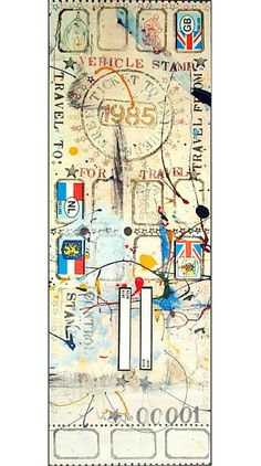 Mail art is a populist artistic movement centered on sending small scale works through the postal service. It initially developed out of the Fluxus movement in the 1950s and 60s, though it has since developed into a global movement that continues to the present.