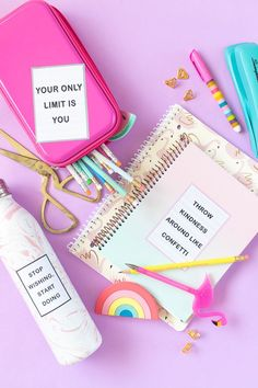 DIY Free Printable Letterboard Stickers Perfect for Back-to-School! (4 Designs)